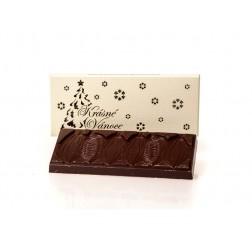 """Čokoláda """"Krásné Vánoce"""" HOŘKÁ tabulka 45 g"""