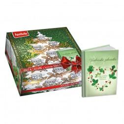 Kolekce Vánoční čajování 90ks +knižní dárek Herbář