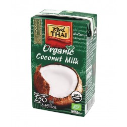 Kokosové mléko BIO 250ml Real THAI