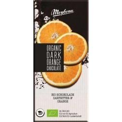 Čokoláda Meybona BIO s pomerančovými granulami 100g