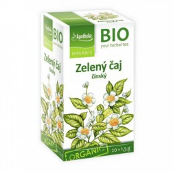 Čaj Apotheke Zelený čínský BIO 20x1,5g