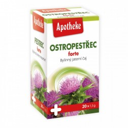 Čaj Apotheke Ostropestřec FORTE 20x1,5g