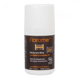 Deodorant přírodní pánský 24h roll-on HOMME 50 ml BIO FLORAM