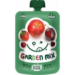 Dětská výživa Kapsička Bio zahradní směs 100% 90g