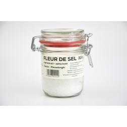 Solný květ mořská sůl Řecko FLEUR DE SEL 300g sklo