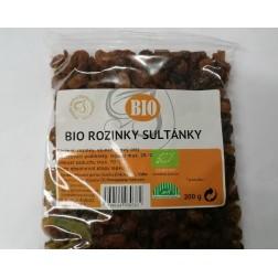 Rozinky BIO sultánky 200g Vizovice