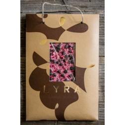 Čokoláda LYRA A4 Růžová premium posyp ovocný 300g