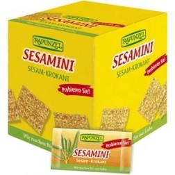Bio MINI SESAMINI – sezamové plátky 100x5g