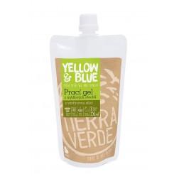 PRACÍ GEL z mýdlových ořechů se silicí vavřínu kubébového 250ml Yellow+Blue