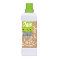 Prací gel z mýdlových ořechů PRO FUNKČNÍ SPORTOVNÍ TEXTIL s přídavkem koloidního stříbra 1l Yellow+Blue