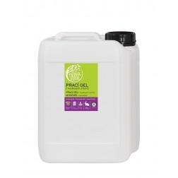 Prací gel z mýdlových ořechů s rostlinnou silicí LEVANDULE 5LYellow+Blue