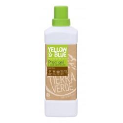 Prací gel z mýdlových ořechů NA VLNU A JEMNÉ PRÁDLO 1l Yellow+Blue