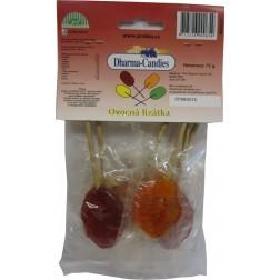Lízátka ovocná směs 6 kusů 50g - bez cukru