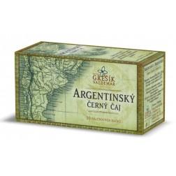 Argentinský černý čaj GREŠÍK - 20x2,5g porcovaný VÝPRODEJ 1KS