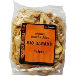 Bio banánové chipsy 100g